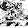 Fantastic Four 50th anniversary piece sketch by Joe Quesada
