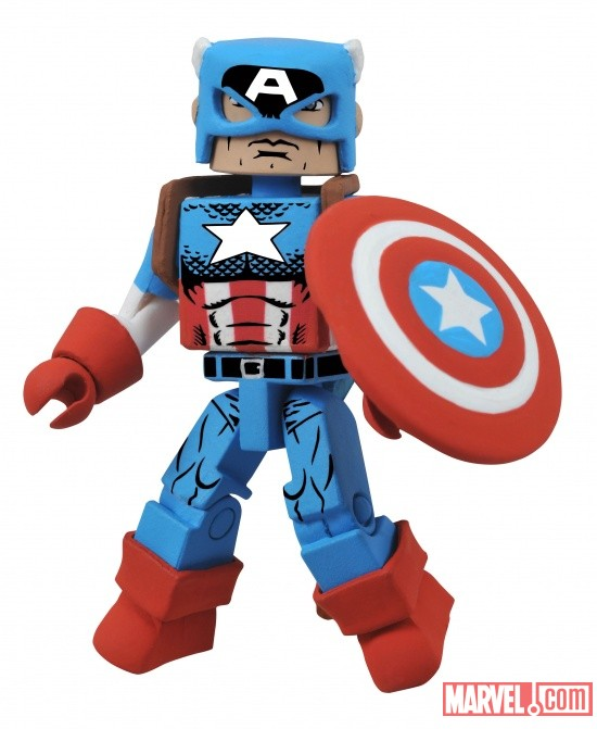 Marvel Minimates Wave 44-Captain America