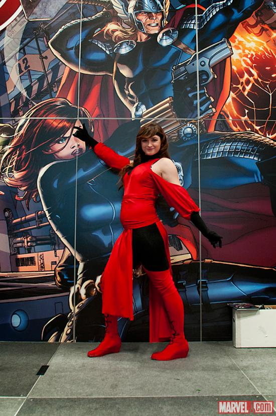 NYCC 2012: Cosplays on the Marvel Stage for the Costume Contest