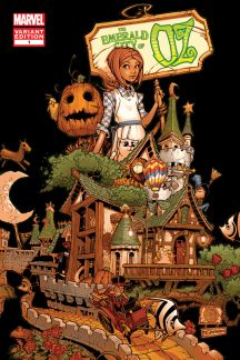The Emerald City of Oz #1  (Bachalo Variant)
