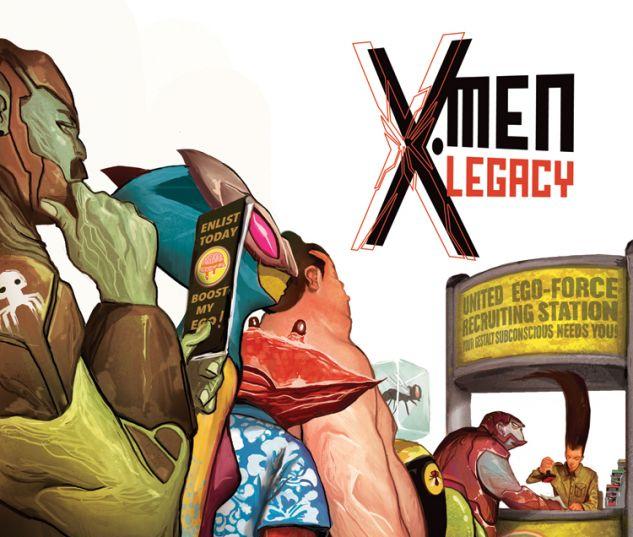 X-MEN LEGACY 22