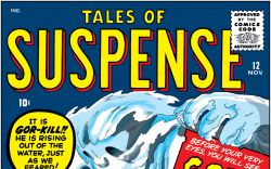Tales of Suspense (1959) #12 Cover