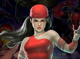 Elektra in Marvel Puzzle Quest