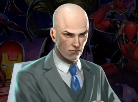 Professor X in 'Marvel Puzzle Quest'