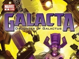 Galacta: Daughter of Galactus (2010) #0