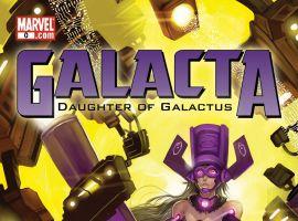 Galacta: Daughter of Galactus (2010) #0