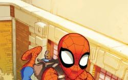 Marvel Adventures Spider-Man (2010) #1 cover by Karl Kerschl