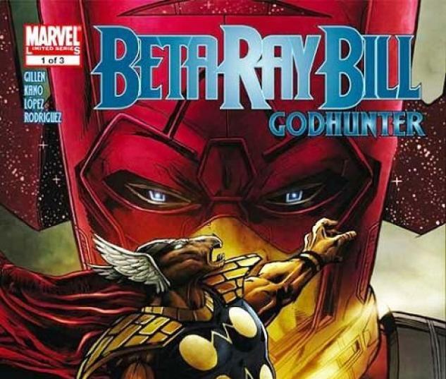 Cover for BETA BAY BILL: GODHUNTER #1