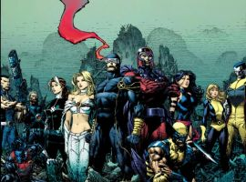 Image Featuring Magneto, Nightcrawler, Psylocke, Rogue, Wolverine, Sub-Mariner, Cable, Hope Summers, Colossus, Cyclops, Emma Frost