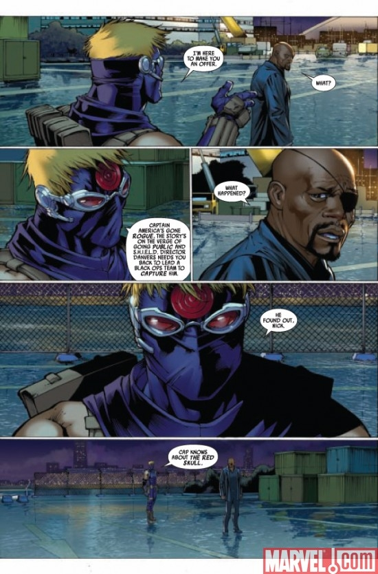 ULTIMATE COMICS AVENGERS #1, page 5
