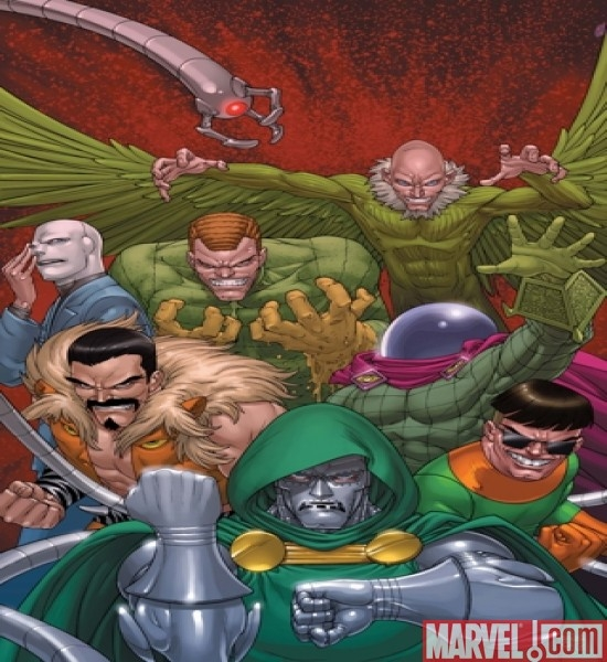 DOCTOR DOOM AND THE MASTERS OF EVIL #1