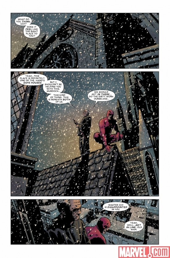 DAREDEVIL #118 preview page