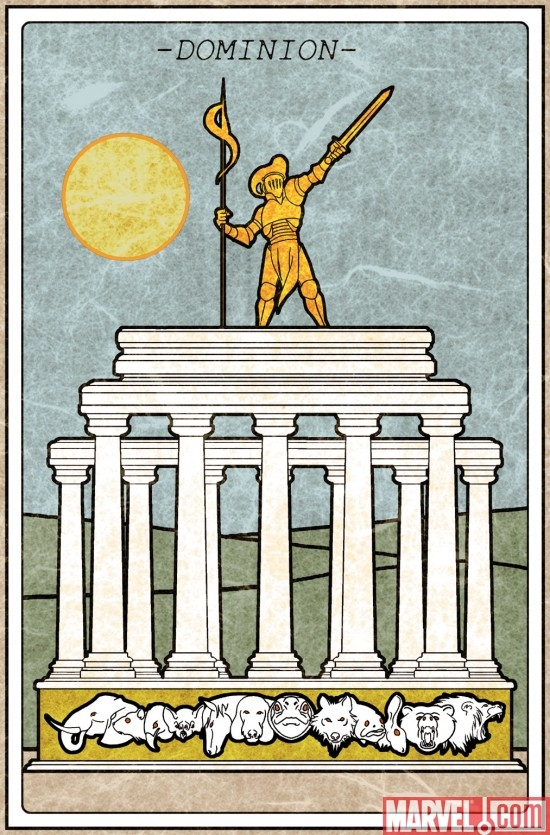 Dominion tarot card