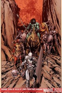 Son of Hulk (2008) #7 (2nd Printing Variant)