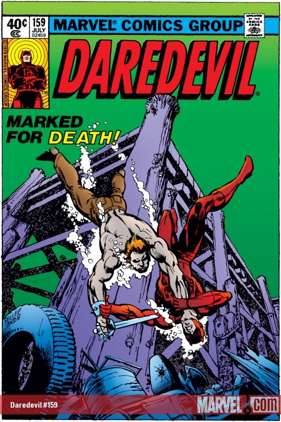 DAREDEVIL #159 COVER