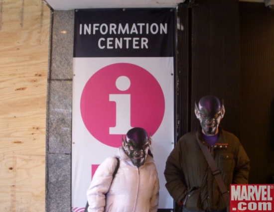 Mr. &amp; Mrs. Skrull require information
