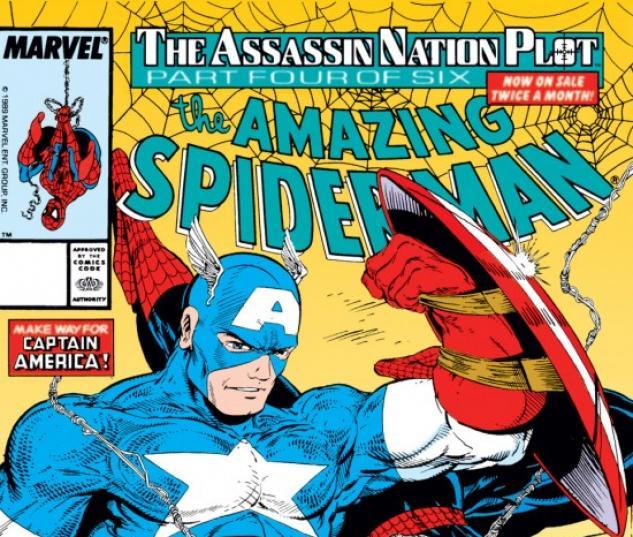 AMAZING SPIDER-MAN #323 COVER