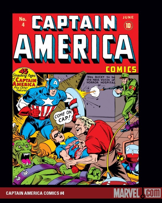CAPTAIN AMERICA COMICS #4