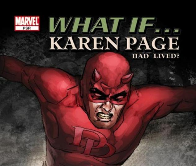 WHAT IF KAREN PAGE HAD LIVED? (2006) COVER