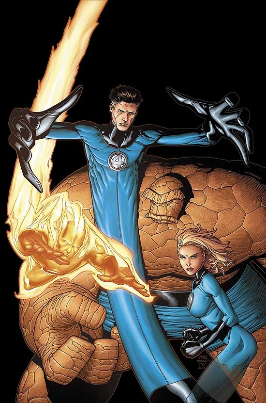 MARVEL ENCYCLOPEDIA VOL. 6: FANTASTIC FOUR COVER