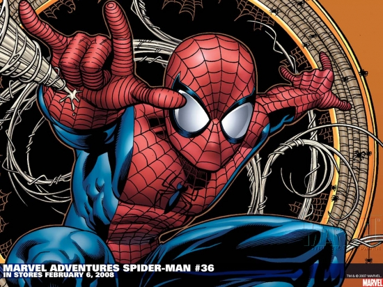 Marvel Adventures Spider-Man (2005) #36 Wallpaper