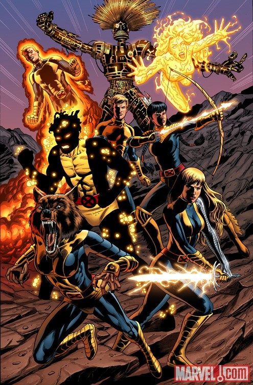 NEW MUTANTS FOREVER #1 cover by Al Rio