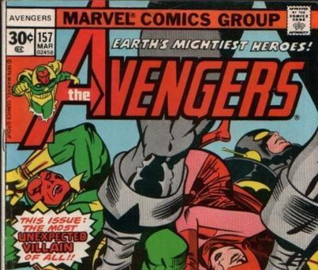 AVENGERS (1963) #157 cover by Jack Kirby