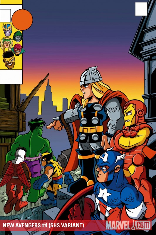 New Avengers (2010) #4 (SHS VARIANT)
