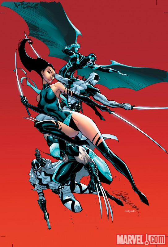 Uncanny X-Force #1, Campbell Variant