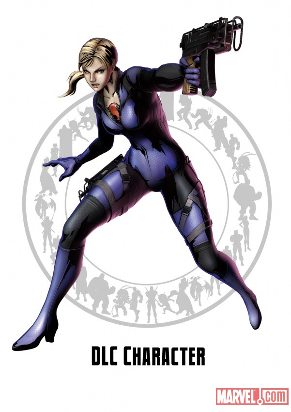 Marvel vs. Capcom 3: Jill Valentine Character Art