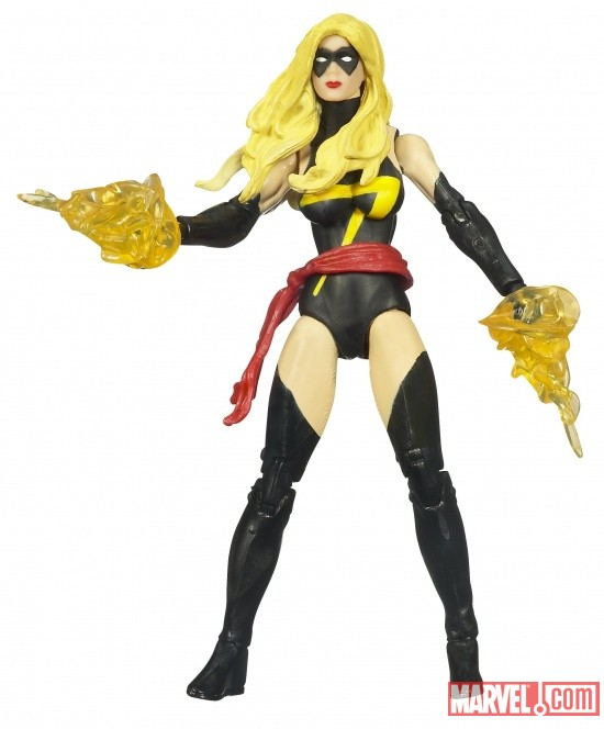 Ms. Marvel 3 3/4 Inch Marvel Universe Action Figure from Hasbro, Wave 3