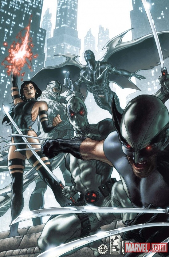 Uncanny X-Force #5.1 cover by Simone Bianchi