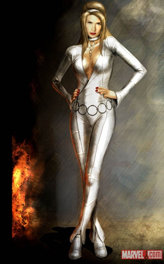 Emma Frost Concept Art