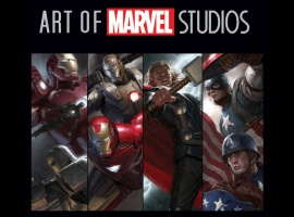 The Art of Marvel Studios slipcase cover art by Ryan Meinerding and Charlie Wen