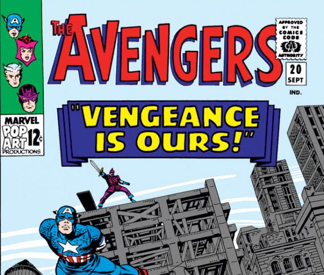 Avengers (1963) #20 cover