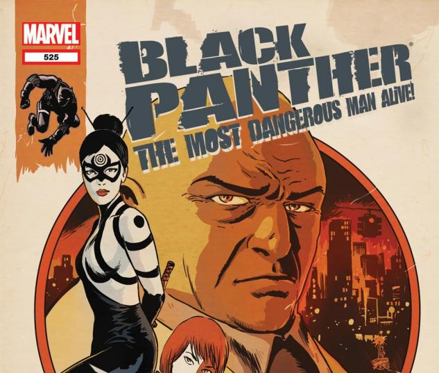 Black Panther: The Most Dangerous Man Alive (2010) #525
