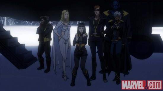 Screenshot from X-Men episode 6