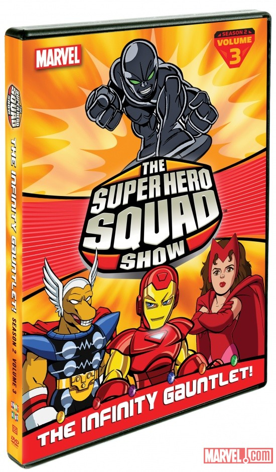 The Super Hero Squad Show: The Infinity Gauntlet! Volume 3 DVD Box Art