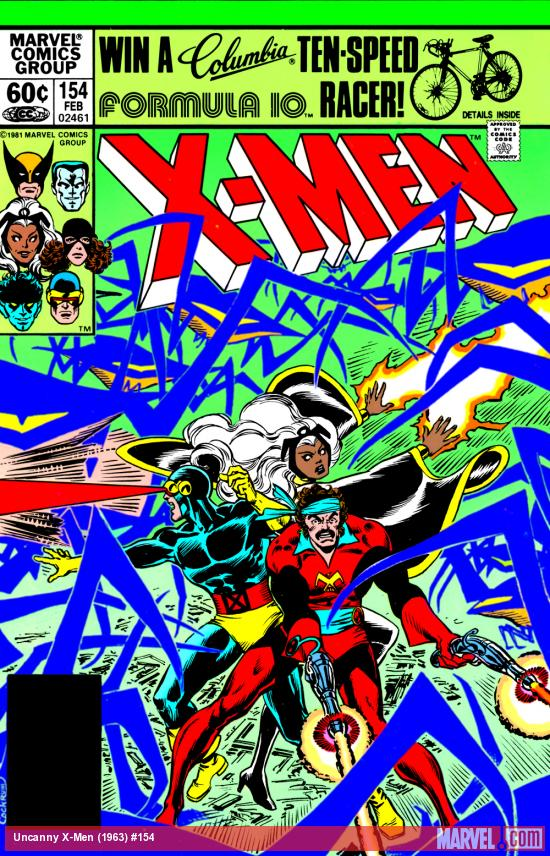 Uncanny X-Men #154 Cover