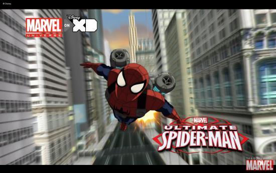 Ultimate Spider Man Show Wallpaper Ultimate Spider-Man Wallpaper