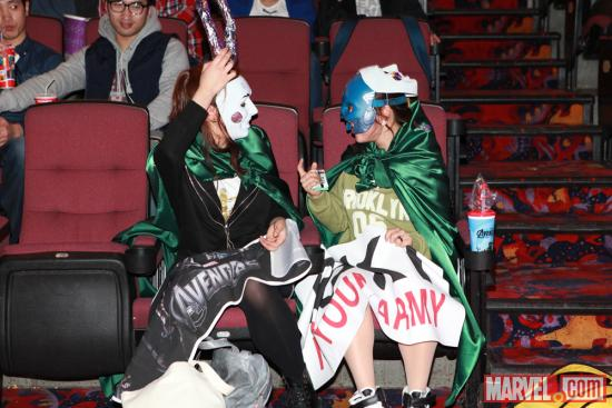 &quot;Marvel's The Avengers&quot; fans dressed up as their favorite Avenger during a special event in Seoul