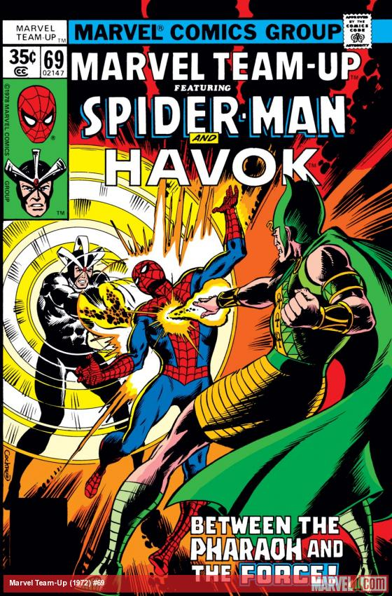 Marvel Team-Up (1972) #69 Cover