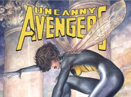 UNCANNY AVENGERS 8 MANARA WASP VARIANT (NOW, 1 FOR 50, WITH DIGITAL CODE)