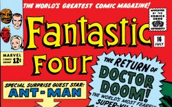 Fantastic Four (1961) #16 Cover