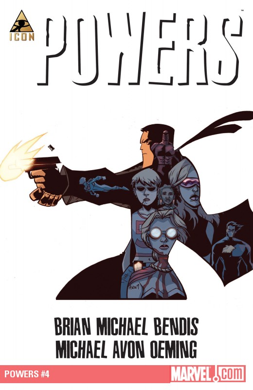 Powers (2009) #4