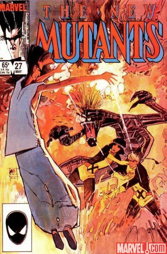 NEW MUTANTS #27 (1983)