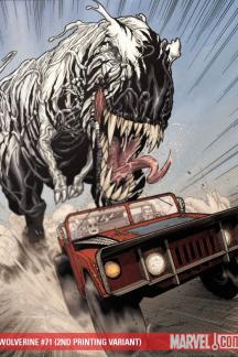 Wolverine (2003) #71 (2ND PRINTING VARIANT)