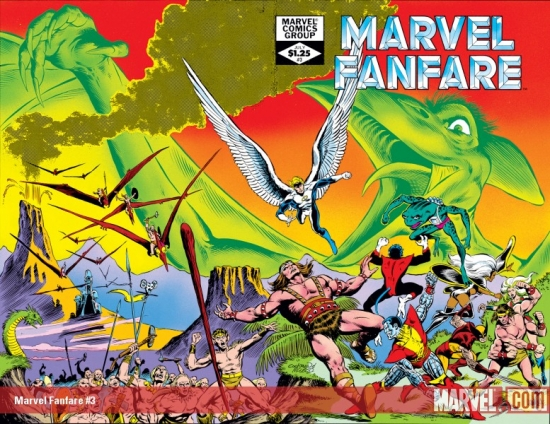 Marvel Fanfare #3