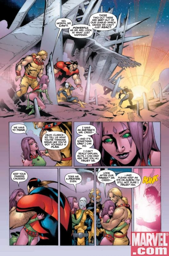 X-Men: Die By The Sword #5, page 6
