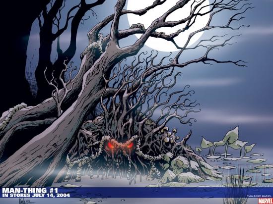Man-Thing (2004) #1 Wallpaper